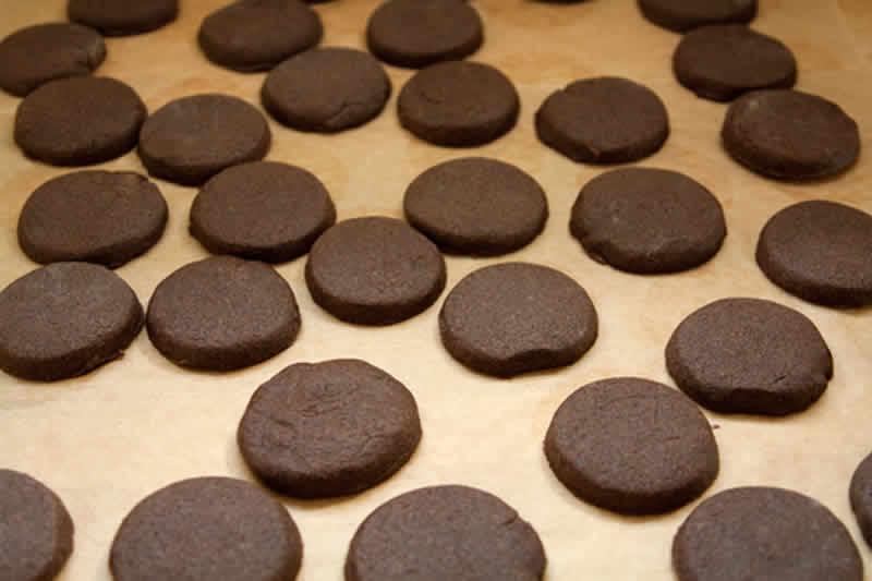 recette sables chocolat noir