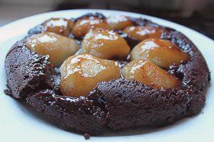 recette tarte aux poires chocolat
