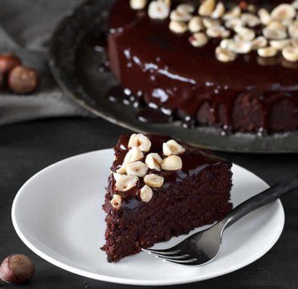 Recette gâteau au chocolat et noisettes