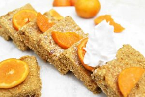recette gateau avoine dattes et clementines