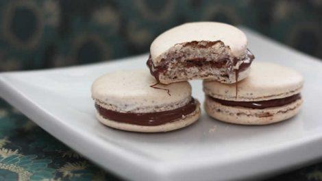 Recette Macarons noisette et nutella