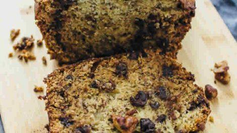 Recette cake au chocolat banane et noix