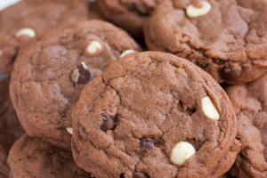 Recette cookie aux trois chocolats