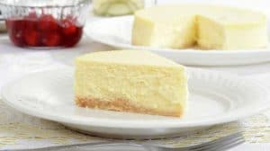Recette Cheesecake au chocolat blanc