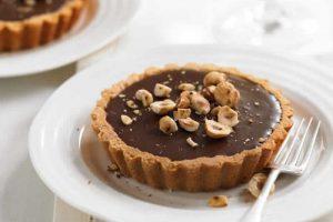 Recette mini tarte au chocolat et noisettes