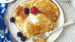 Recette pancakes au babeurre