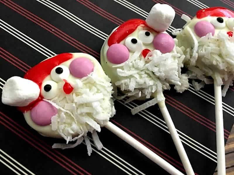 Bonbons sucette Père Noël