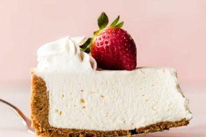 Recette de cheesecake au fromage sans cuisson