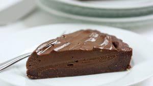 Recette de tarte à l'avocat et au chocolat