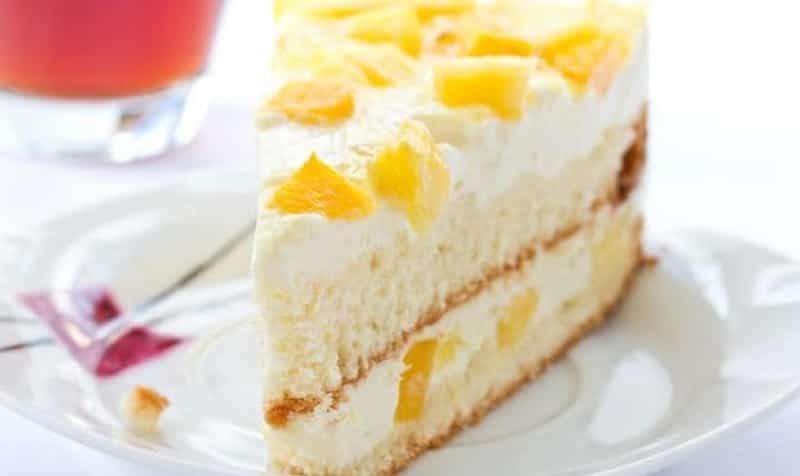 Recette gâteau ananas à la crème
