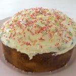 Gâteau au beurre et vanille