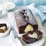 Gâteau aux poires au chocolat