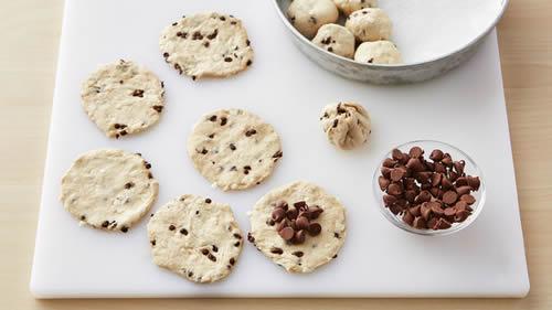 Biscuit fourré au chocolat 1