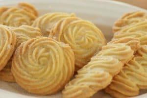 Biscuit nature à la vanille