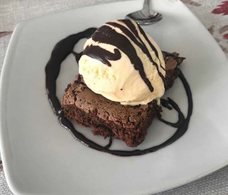 Carrés cake au chocolat