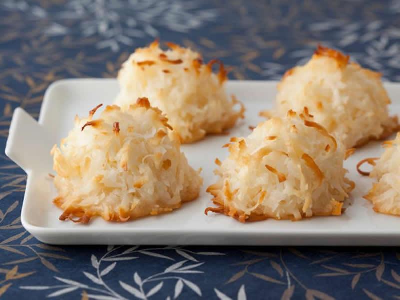 Macaron noix de coco moelleux