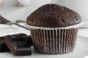 Muffin moelleux chocolat