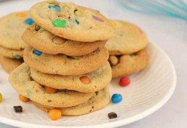 Cookies chocolat bonbons