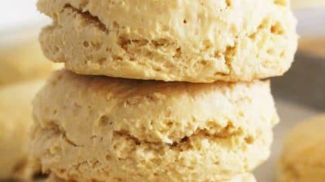 Biscuits au lait fait maison